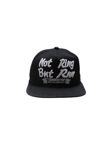 Laslusa Not Ring But Run Hip Hop Snapback Şapka Siyah